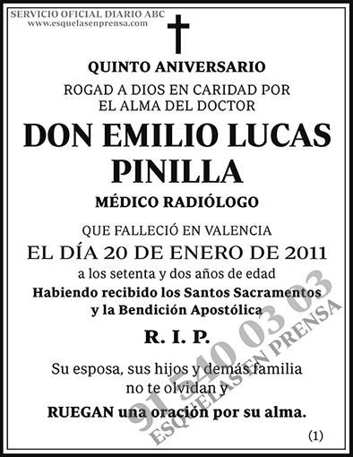 Emilio Lucas Pinilla